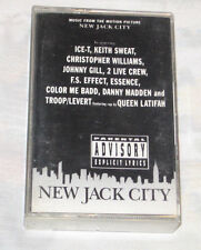 New Jack City PA Cassette, Mar-1991, Giant USA R&B & Soul Free Shipping U.S.A.