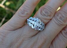 right-hand ring or wedding band 1.40cts vintage antique diamond marquise