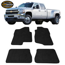 Fits 07-13 Chevy Silverado Sierra Tahoe Yukon Floor Mats Carpets 4 Pieces Black
