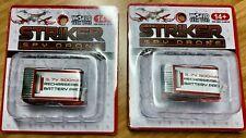 x2 New Striker Spy Drone Battery 3.7v 500mAh Rechargeable World Tech Toys
