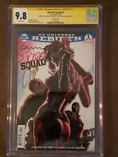 Suicide Squad #1 (CGC 9.8 SS x 3) - Lee Bermejo Variant - 2016 DC - Sold Out!