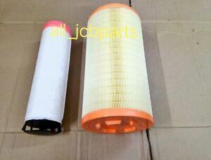JCB JS 210 AIR FILTER OUTER INNER (580/12020 580/12021 P782104 P780036 AF25723)
