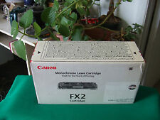 Genuine Canon® FX-2 Black Toner Cartridge (1556A002BA) to Laser Class: 7100 7700