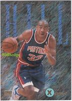 1994-95 SKYBOX EMOTION XCITED: GRANT HILL #4 PISTONS RC ROOKIE SEASON INSERT
