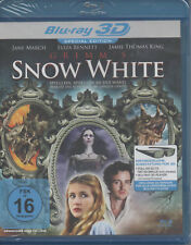 Grimm's Snow White 3D Blu Ray NEU Jane March Eliza Bennett Jamie Thomas King