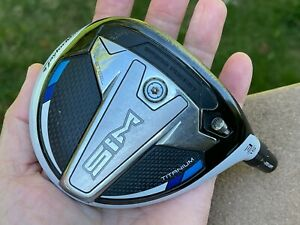 TaylorMade SIM Ti 3 wood 3w 15* HEAD ONLY + Headcover + Tip Shaft Adapter 0.335
