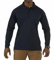 5.11 Tactical Men's Performance Long-Sleeve Work Polo Shirt, Style 72049