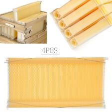 4X Auto Honey Hive Beehive Frames (Food-grade BPA-free) Honey Produce Newest