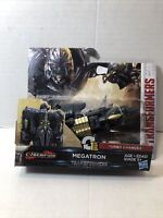 Transformers The Last Knight Cyberfire 1-Step Turbo Changer MEGATRON NEW SEALED!