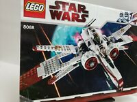 Lego Instruction Book 8088 Star Wars ARC-170 Starfighter (Manual Only)