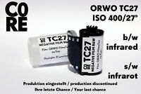 ORWO TC27 Film by C0RE • ISO 400 • 24 Exp • b/w Infrared s/w Infrarot 35mm RARE