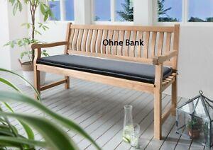 Destiny Bankpolster 180 cm Anthrazit Auflage für Gartenbank Polster mit Stehsaum
