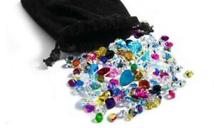 50 pieces Swarovski crystal stones lot mixed 18pp- 15mm 1st Quality