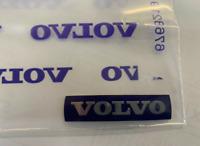 ORIGINAL Volvo adhésif volant logo badge emblème (46 mm x 10.5 mm)31467395