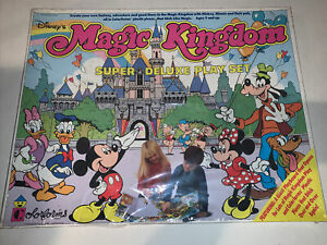 NEW SEALED Disney's Magic Kingdom Super Deluxe Play Set Age 3+ Colorforms 4125