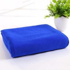 Quick-Dry Absorbent Microfiber Bath Towel Fashion Travel Beach Washcloth Blue FT