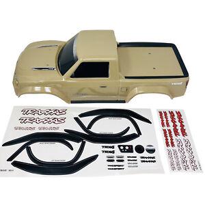 Traxxas TRX-4 Sport Tan Pre-Painted Body Shell BodyShell w/Decals 8111 Brand New