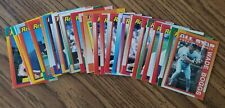 1990 Topps Boston Red Sox Team Set (36 cards)