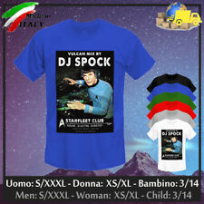 "T-shirt ""DJ SPOCK"" Star Trek Captain Vulcan Obey Swag Supreme Dope, Collez 2020!"