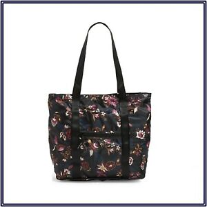 NWT Vera Bradley Packable Tote Weekender Traveler Bag in Garden Dream