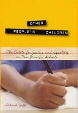 Other People's Children: The Battle for Justice and Equality in New Je-ExLibrary