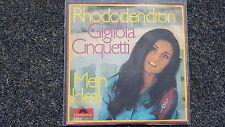 Gigliola Cinquetti - Rhododendron/ Mein Ideal 7'' Single SUNG IN GERMAN