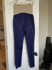 Motherhood Maternity Royal Blue Skinny Jeans Size S