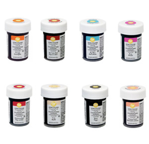 Wilton Concentrated Icing Colour Gel Paste Halal Available In Various Colours