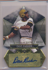 DAVE PARKER 2014 TOPPS SUPREME STYLING AUTO PIRATES 08/50