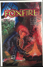 Foxfire #1 VF+ 1st Print Free UK P&P Night Wynd Enterprises