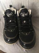 """Nikeâ""""¢ Air Jordan Flight 9 Oreo Youth Sz 7"""