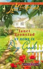 Larger Print Romance At Home in Dry Creek by Janet Tronstad PB,Love Inspired