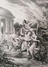 Rousseau Frontispice  La Nouvelle Héloïse 1782  Moreau le Jeune graveur Duclos