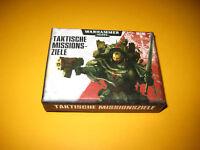 Warhammer 40k - Taktische Missionsziele - Karten