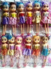 Lot of 12 pcs Cute Colorful Dressed Dolls 16cm Figures Models Hanging Toys