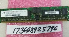 512MB DDR DDR1 PC3200R 400MHZ 184PIN RDIMM 64X8 184PIN ECC REG SINGLE RANK