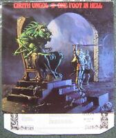 Cirith Ungol – One Foot in Hell – Vinyl LP 1986 - RR9681 Rare Dutch Import