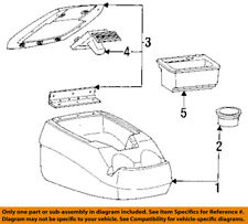 FORD OEM 94-96 F-250 Center-Console-Door F4TZ1806024A