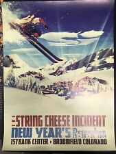 String Cheese incident Poster 12/29,30,31/2014 Broomfield Co Sci Denver Skiier