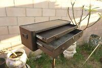 Kennedy MC-28,Two-drawer machinist box riser Made in USA 28''X 91/2''X 71/2''