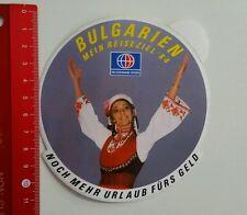 Aufkleber/Sticker: Neckermann Reisen - Bulgarien '84 (16041688)