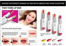 Laneige -Two Tone Lip Bar (2g) 双色口红 (9 color AVAILABLE)