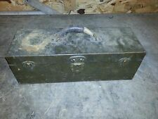 OLD VINTAGE METAL KENNEDY KITS FISHING TACKLE TOOL BOX