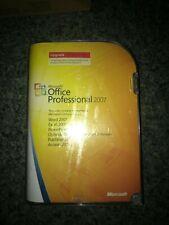 GENUINE MICROSOFT OFFICE PRO 2007 UPGRADE RETAIL VERSION W/KEY