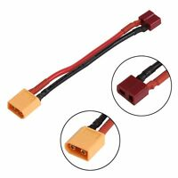 T Plug Female To XT60 Male Silicone Connector Adapter Converter Wire NiMH Lipo