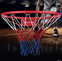 "Dunlop Full Size Basketball Ring Hoop Net 18"" 45cm Wall Mounted Outdoor Hanging"