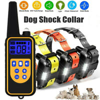2600 FT Remote Dog Training Shock Collar Waterproof Hunting Trainer Rechargeable