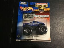 Hot Wheels Monster Jam Metal Collection Blue Thunder Signed By Driver