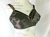 Just My Size Bra 40D Chocolate Brown Wire Free 3 Hook