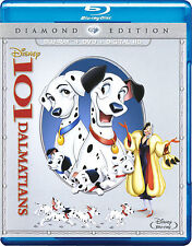 Disney's 101 Dalmatians (Blu-ray/DVD, 2015, 2-Disc Set, Diamond Edition)